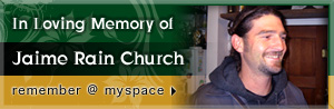 In Loving Memory of Jaime Rain Church